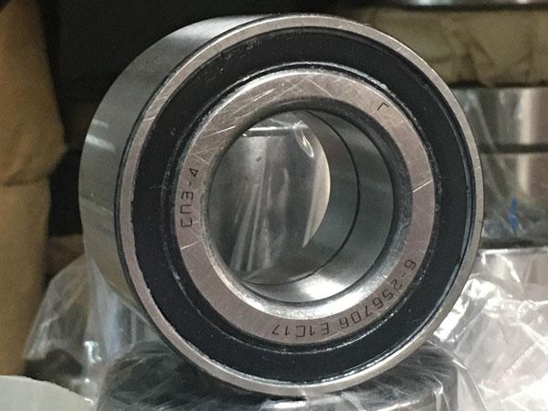двухрядные с двухсторонней защитой и уплотнением из резины или пластмассы (256ххх)