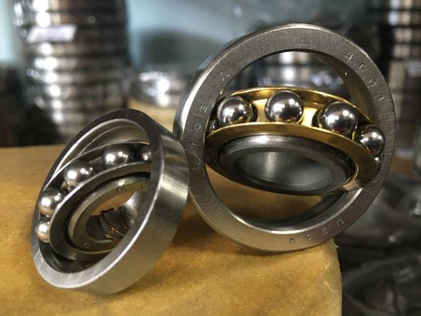 однорядные разъёмные со съёмным наружным кольцом с углом контакта α=12º (6ххх)