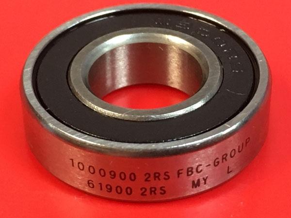 Подшипник 1000900-2RS аналог 61900-2RS (6900-2RS) FBC-GROUP размеры 10х22х6