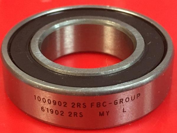 Подшипник 1000902-2RS аналог 61902-2RS (6902-2RS) FBC-GROUP размеры 15х28х7