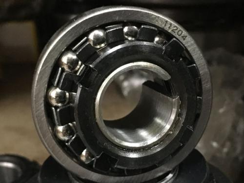Подшипник 11204 аналог 1205K+H205 размеры 20х52х15/26