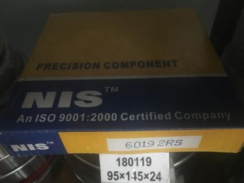 Подшипник 6019-2RS NIS аналог 180119 размеры 95*145*24