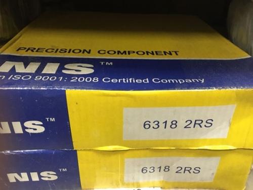 Подшипник 6318-2RS NIS аналог 180318 размеры 90x190x43