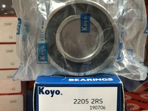 Подшипник 2205-2RS Koyo аналог 1505 размеры 25*52*18