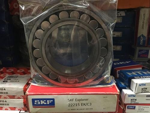 Подшипник 22215 ЕK C3 SKF аналог 113515 размеры 75x130x31