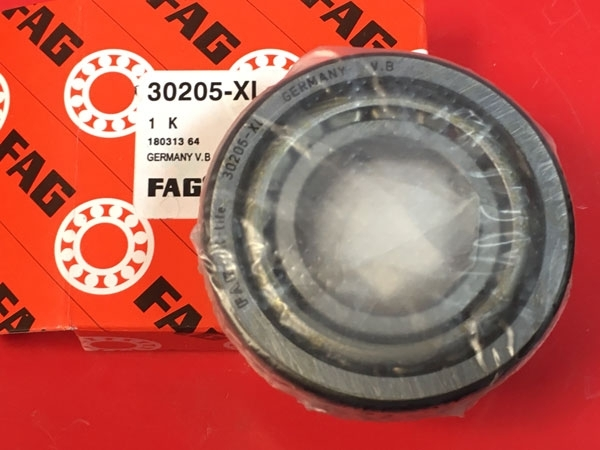 Подшипник 30205 XL FAG аналог 7205 размеры 25x52x16,25