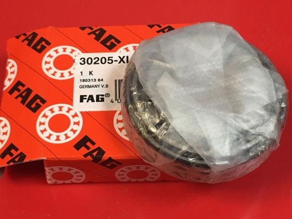 Подшипник 30205 XL FAG аналог 7205 размеры 25х52х16,25