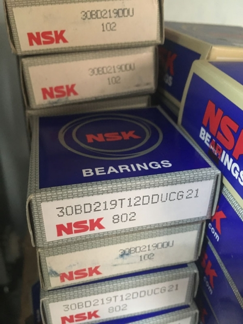 Подшипник 30BD219 T12DDULXCG02 NSK компрессора кондиционера размеры 30*47*18