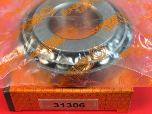 Подшипник 31306 CRAFT аналог 27306 размеры 30*72*20,75