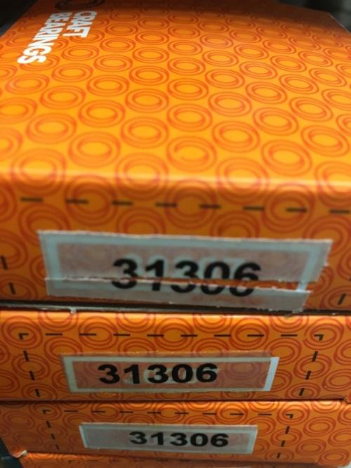 Подшипник 31306 CRAFT аналог 27306 размеры 30x72x20,75