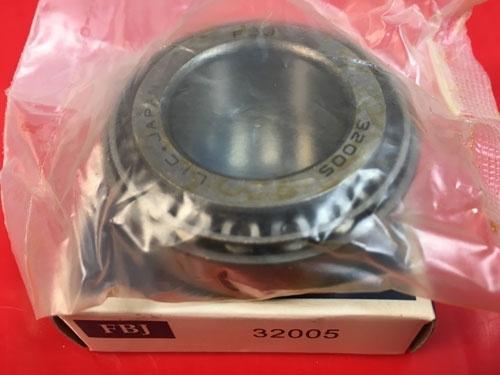Подшипник 32005 FBJ аналог 2007105 размеры 25x47x15