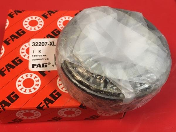 Подшипник 32207 XL FAG аналог 7507 размеры 35*72*24,25