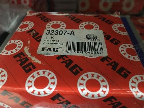 Подшипник 32307 A FAG аналог 7607 размеры 35*80*32,75 купить из наличия