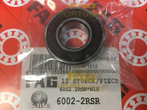 Подшипник 6002-2RS R FAG аналог 180102 размеры 15х32х9