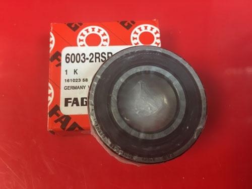 Подшипник 6003-2RS R FAG аналог 180103 размеры 17х35х10