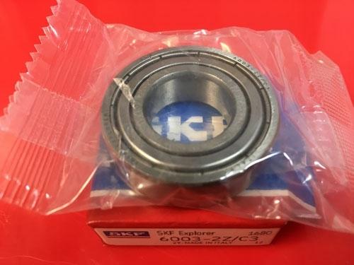 Подшипник 6003-2Z C3 SKF аналог 80103 размеры 17х35х10