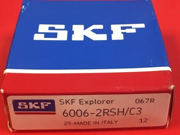 Подшипник 6006-2RS H C3 SKF аналог 180106 размеры 30х55х12