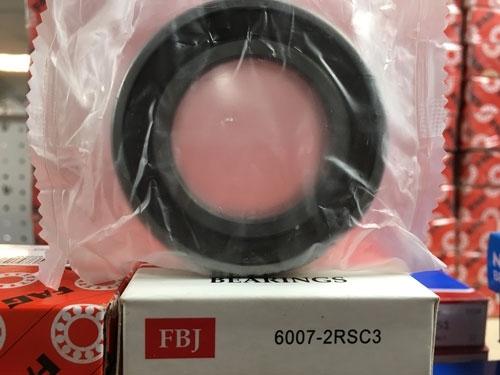 Подшипник 6007-2RS C3 FBJ аналог 180107 размеры 35*62*14