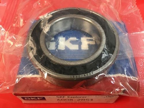 купить подшипник 6008-2RS 1 SKF аналог 180108 размеры 40*68*15