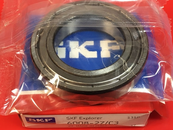 Подшипник 6008-2Z/C3 SKF аналог 180108 размеры 40х68х15