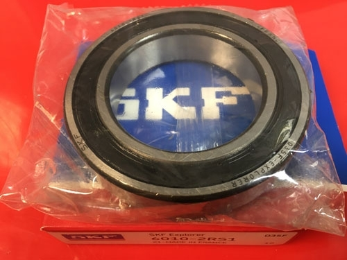 купить подшипник 6010-2RS 1 SKF аналог 180110 размеры 50х80х16