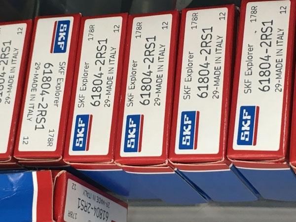 Подшипник 61804-2RS 1 SKF аналог 1180804 (1000804-2RS, 6804-2RS) размеры 20*32*7