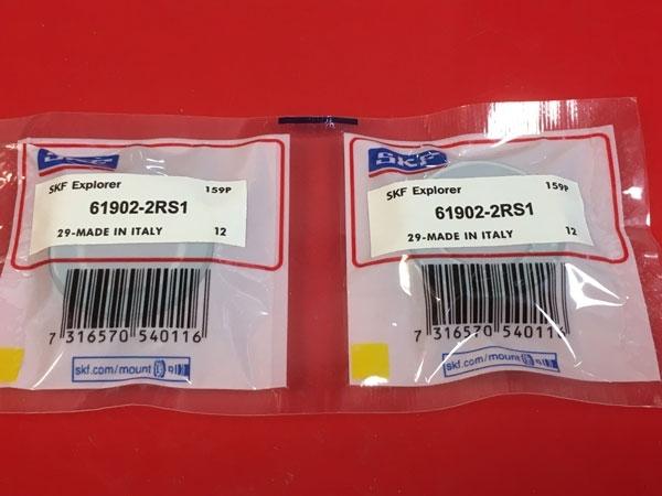 Подшипник 61902-2RS 1 SKF аналог 1180902 (1000902-2RS, 6902-2RS) размеры 15x28x7