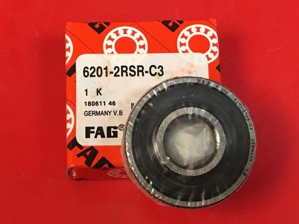 Подшипник 6201-2RS R C3 FAG аналог 180201 размеры 12x32x10