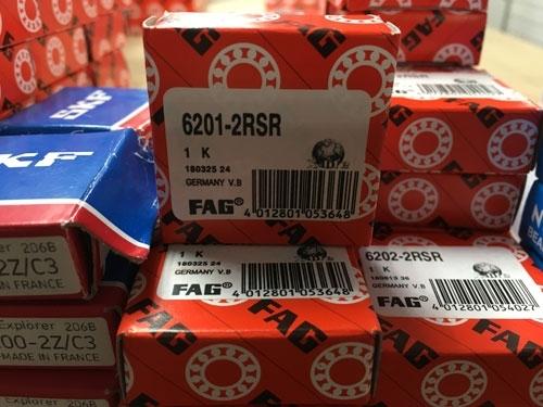 Подшипник 6201-2RS R FAG аналог 180201 размеры 12*32*10