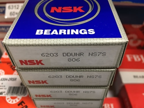 Подшипник 6203 DDUNR NSK аналог 50203 размеры 17*40*12