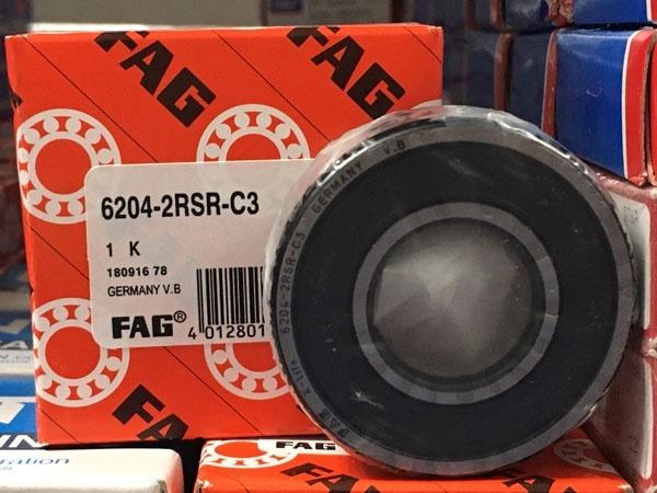 Подшипник 6204-2RS R C3 FAG аналог 180204 размеры 20*47*14