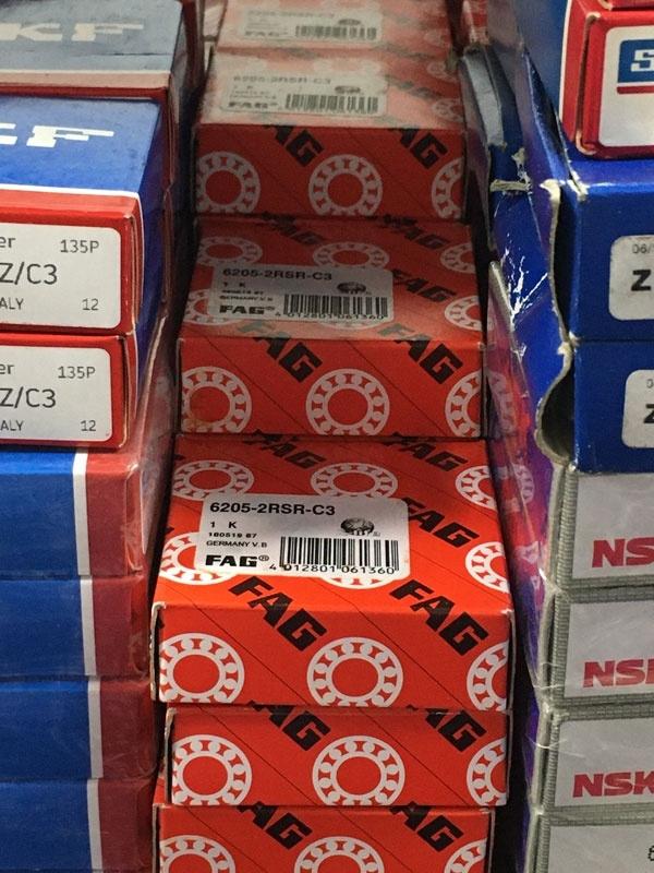 Подшипник 6205-2RS R C3 FAG аналог 180205 размеры 25х52х15