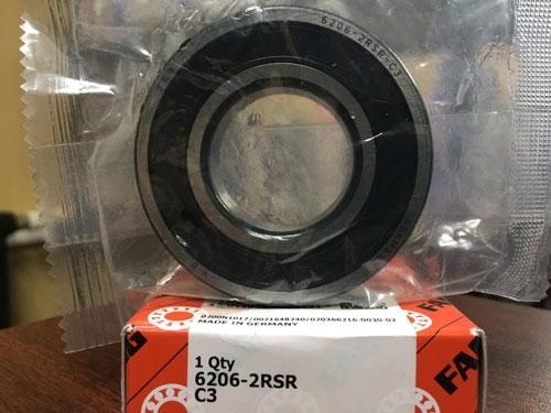Подшипник 6206-2RS R С3 FAG аналог 180206 размеры 30*62*16
