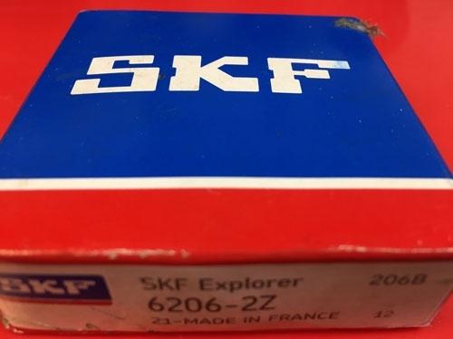Подшипник 6206-2Z SKF аналог 80206 размеры 30х62х16