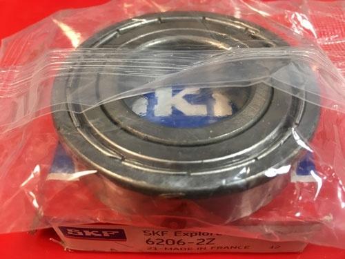 Подшипник 6206-2Z SKF аналог 80206 размеры 30*62*16