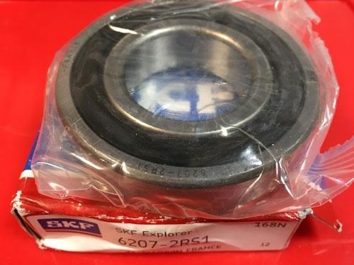 Подшипник 6207-2RS 1 SKF аналог 180207 размеры 35*72*17