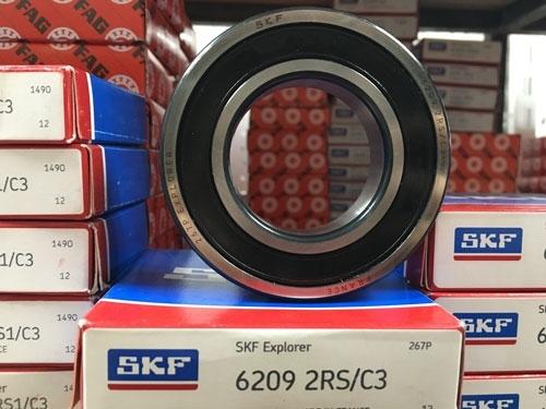 Подшипник 6209-2RS С3 SKF аналог 180209 размеры 45*85*19