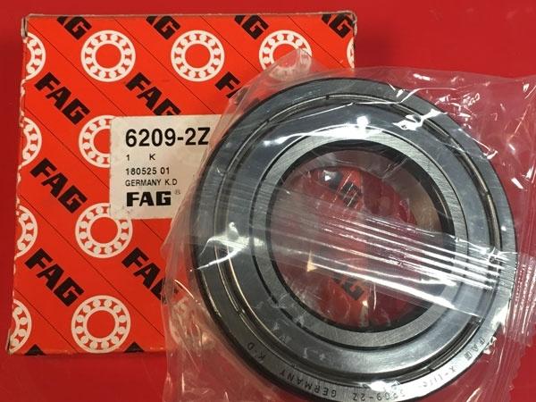 Подшипник 6209-2Z FAG аналог 80209 размеры 45x85x19