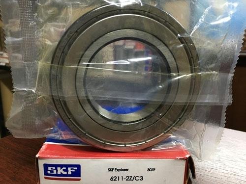 Подшипник 6211-2Z C3 SKF аналог 80211 размеры 55*100*21