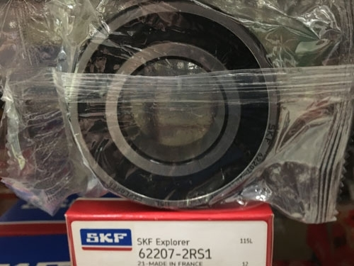 Подшипник 62207-2RS 1 SKF аналог 180507 размеры 35х72х23