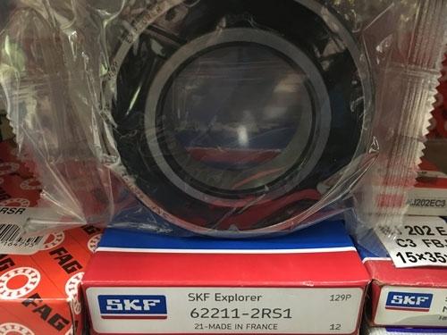 Подшипник 62211-2RS 1 SKF аналог 180511 размеры 55x100x25