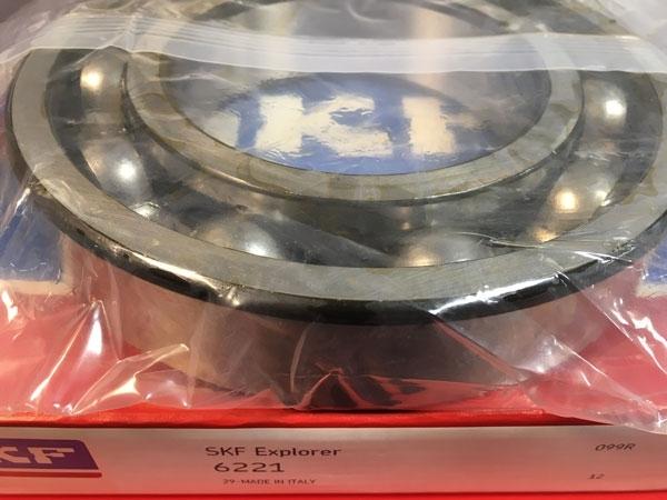 Подшипник 6221 SKF аналог 221 размеры 105х190х36
