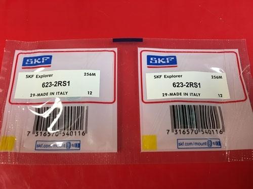 Подшипник 623-2RS 1 SKF аналог 180023 размеры 3х10х4