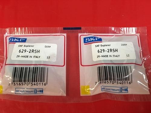 Подшипник 629-2RS H SKF аналог 180029 размеры 9х26х8