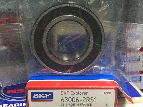 Подшипник 63006-2RS 1 SKF размеры 30*55*19