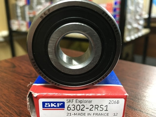 Подшипник 6302-2RS 1 SKF аналог 180302 размеры 15*42*13