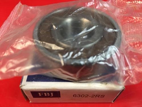 Подшипник 6302-2RS FBJ аналог 180302 размеры 15x42x13