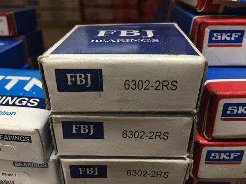 Подшипник 6302-2RS FBJ аналог 180302 размеры 15*42*13