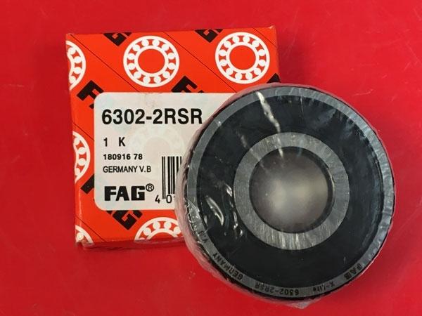 Подшипник 6302-2RS R FAG аналог 180302 размеры 15x42x13