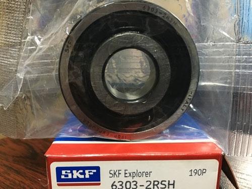 Подшипник 6303-2RS H SKF аналог 180303 размеры 17*47*14